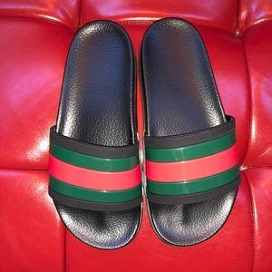 Men's Rubber Gucci Slides Size 7.5